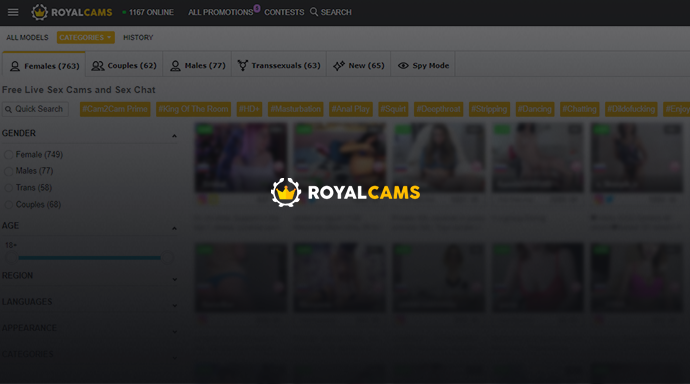 RoyalCams Review – [Live Performers Gone Wild!]